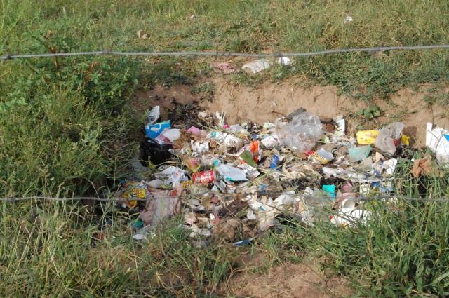 Se ei-niin-hyvä kaatopaikka Gabanessa, Botswanassa
